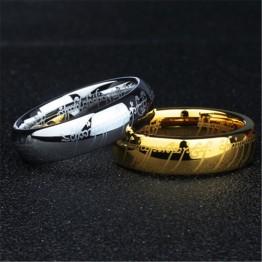 33.53 руб. 49% СКИДКА|(1 шт./лот) 100% вольфрамовое кольцо из нержавеющей стали 316L подарок для мужчин-in Кольца from Украшения и аксессуары on Aliexpress.com | Alibaba Group