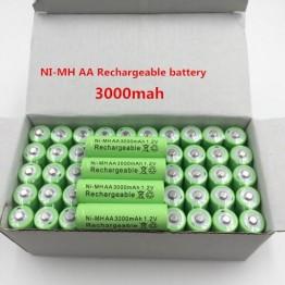 264.29 руб. 37% СКИДКА Dolidada Новая батарея AA 3000 mAh аккумуляторная батарея Ni MH 1,2 V AA батарея для часов, мышей, компьютеров, игрушек так далее-in Подзаряжаемые батареи from Бытовая электроника on Aliexpress.com   Alibaba Group