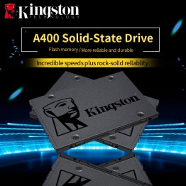 1725.0 руб. 44% СКИДКА|Kingston цифровой A400 SSD 120 ГБ 240 ГБ 480 ГБ SATA 3 2,5 дюймов Internal Solid State Drive HDD жесткий диск HD SSD 240 ГБ Тетрадь PC купить на AliExpress
