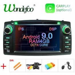 12838.96 руб. 38% СКИДКА|DSP 2 din Android 9,0 4G Автомобильный dvd плеер для Toyota Corolla E120 BYD F3 мультимедийный плеер стерео GPS Радио Навигация-in Мультимедийные плееры для автомобиля from Автомобили и мотоциклы on Aliexpress.com | Alibaba Group