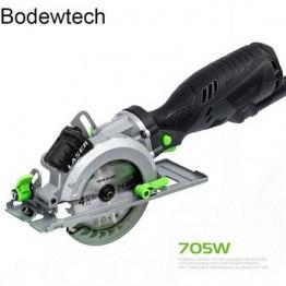 Bodewtech BTC02 электрическая мини-циркулярная пила, 705 Вт 3500 об/мин круглая деревянная пила, резка: 42,8 мм