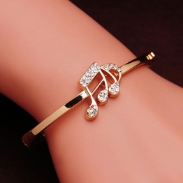 US $1.36 25% OFF|Free shipping Austrian Crystal  Rose Gold Color Women Bangles Romantic  Valentine's Day Gift Fashion Bracelet Women Lady-in Bangles from Jewelry & Accessories on Aliexpress.com | Alibaba Group