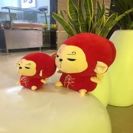 228.69 руб. 32% СКИДКА|Цветок Путешествия обезьяна INS кукла Детские корейские ТВ Утешительный диван Xams подарок игрушки плюшевый кролик Спящая мягкая плюшевая игрушка подушка купить на AliExpress