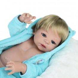 3671.75 руб. 40% СКИДКА NPKDOLL 55 см мягкие силиконовые куклы реборн игрушки для девочек лол Пупс 22 дюймов полный винил кукла младенец куклы для детей бжд оригинал-in Куклы from Игрушки и хобби on Aliexpress.com   Alibaba Group