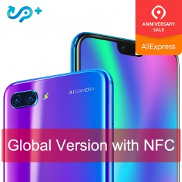 US $310.19 6% OFF|Original Global version Huawei Honor 10 4G 128G 4G LTE Smartphone 3D Curved Glass Kirin 970 AI Processor 5.8 inch Google play-in Cellphones from Cellphones & Telecommunications on Aliexpress.com | Alibaba Group