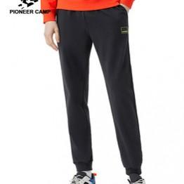Пионерский лагерь 2020, весенние новые мужские штаны для бега, 100% хлопок, удобные спортивные штаны с эластичной резинкой на талии, AZZ0107025