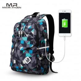 1657.82 руб. 48% СКИДКА|Mark Ryden рюкзак студенческий водостойкий нейлоновый рюкзак мужской Материал Escolar Mochila качественная брендовая сумка для ноутбука школьный рюкзак купить на AliExpress