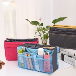 US $2.57 10% OFF|Fashion Portable Women's Cosmetic Bag Make Up Bag Pouch Storage Organizer Makeup Case Casual Travel Handbag Toiletry Wash Kit-in Cosmetic Bags & Cases from Luggage & Bags on Aliexpress.com | Alibaba Group