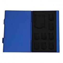 142.67 руб. 19% СКИДКА|Чехол для карт памяти из алюминиевого сплава 8 TF + 4 SD хранение карт памяти коробка для sd карт-in Кейсы для карт памяти from Компьютер и офис on Aliexpress.com | Alibaba Group