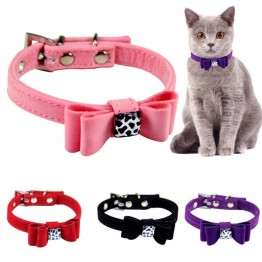 US $0.94 5% OFF|Adjustable Dog Collars Pet Solid Soft Colorful Collars For Small Medium Dogs Neck Strap Adjustable Safe Puppy Kitten Cats Collar-in Cat Collars & Leads from Home & Garden on Aliexpress.com | Alibaba Group