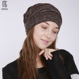 US $9.94 50% OFF|Autumn and winter women's fashion knitting wool outdoor warm comfortable casual bonnet femme hat-in Women's Skullies & Beanies from Apparel Accessories on Aliexpress.com | Alibaba Group
