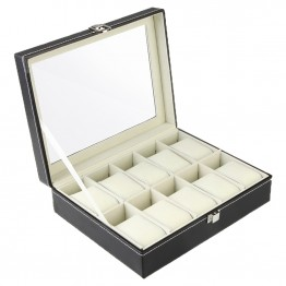 US $15.88 31% OFF|PU leather Watch Packing boxes Storage Box-in Watch Boxes from Watches on Aliexpress.com | Alibaba Group