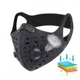 N95 противовирусная коронавирусная Спортивная маска для лица с фильтром с активированным углем PM 2,5 Маска для бега и велоспорта