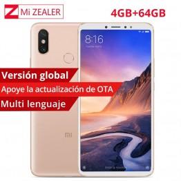 € 269.14  Versión Global Xiao mi Max 3 4 GB RAM 64 GB ROM Smartphone móvil Snapdragon 636 Octa Core 2160 1080x6,9