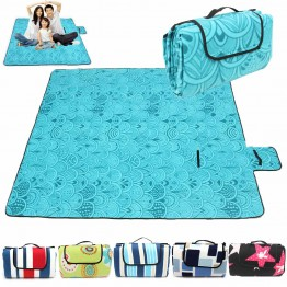US $17.06 17% OFF|200x200CM Waterproof Folding Picnic Mat Outdoor Camping Beach Moisture proof Blanket Portable CampingMat Hiking BeachPad-in Camping Mat from Sports & Entertainment on Aliexpress.com | Alibaba Group