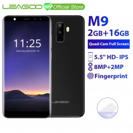 3236.18 руб. 34% СКИДКА Leagoo M9 3 г смартфон 5.5