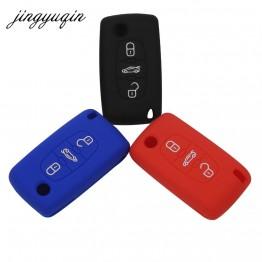 60.49 руб. 15% СКИДКА|Jingyuqin силиконовый пульт дистанционного управления для peugeot 107 207 307 407 308 607 Citroen C1 C2 C3 C4 C5 C6 C8 3 кнопки стайлинга автомобилей-in Футляр для автомобильного ключа from Автомобили и мотоциклы on Aliexpress.com | Alibaba Group