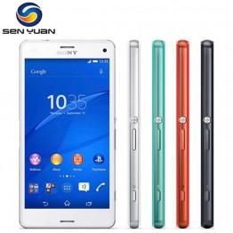 """4324.02 руб. 38% СКИДКА Оригинальный sony Xperia Z3 компактный D5803 GSM 4G LTE Android сотовый телефон Quad Core 2 ГБ Оперативная память 16 ГБ Встроенная память 4,6 """"WI FI gps 2600 мАч Батарея купить на AliExpress"""