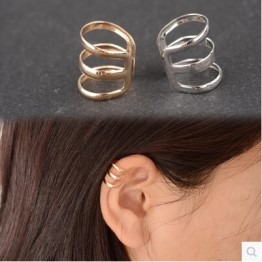 US $0.12 19% OFF|e 007 1 piece New punk rock ear clip silver gold men and women without ear piercings earrings party jewelry couple jewelry acces-in Clip Earrings from Jewelry & Accessories on Aliexpress.com | Alibaba Group