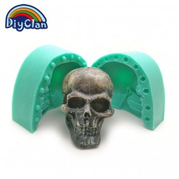 US $14.56 |DIY silicone molds for cake pudding jelly dessert chocolate mold 3D Halloween skull Skeleton handmade soap mould S0504KL-in Cake Molds from Home & Garden on Aliexpress.com | Alibaba Group
