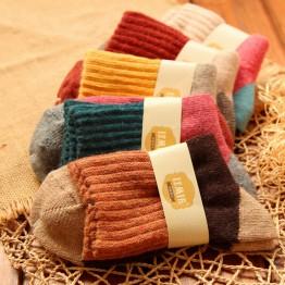 US $8.92 30% OFF|5Pairs/Lot High Quality Women Winter Vintage Rabbit Wool Socks Thicken Warm Female Fashion Patchwork Retro thermal Cotton Socks-in Socks from Underwear & Sleepwears on Aliexpress.com | Alibaba Group