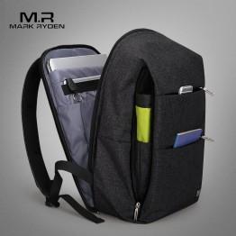 2398.16 руб. 49% СКИДКА|Mark Ryden новый мужской рюкзак для 15,6 дюйм(ов) ноутбук большой емкости студенческий рюкзак повседневный Стиль Сумка водоотталкивающая купить на AliExpress