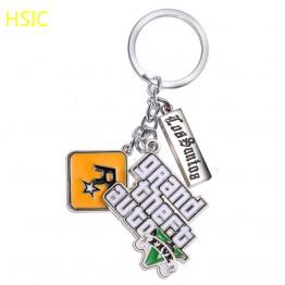 118.34 руб. 8% СКИДКА|Classic PS4 GTA 5 Game keychain Grand Mens Theft Auto 5 Keychains Xbox PC Key Ring Holder for  Christmas Gifts-in Брелоки from Украшения и аксессуары on Aliexpress.com | Alibaba Group