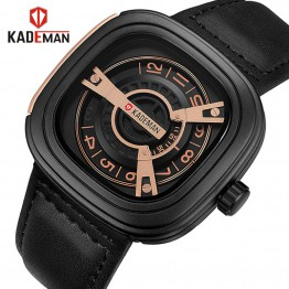 KADEMAN Creative Watches Men Luxury Brand Quartz Watch Fashion Sports Reloj Hombre Waterproof Clock Male Watch Relogio Masculino-in Quartz Watches from Watches on Aliexpress.com | Alibaba Group