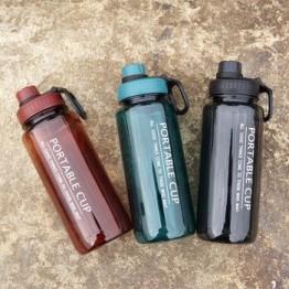 600 мл/800 мл/1000 мл портативная Спортивная бутылка для воды здоровая пластиковая чашка для фитнеса в тренажерном зале My шейкер бутылки BPA Free