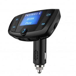 1201.0 руб.  Bluetooth fm передатчик 3.1A Dual USB Зарядные устройства для автомобиля A2DP Hands free USB TF карты MP3 плеер вольтметр ЖК дисплей Дисплей комплект-in FM-трансмиттеры from Автомобили и мотоциклы on Aliexpress.com   Alibaba Group