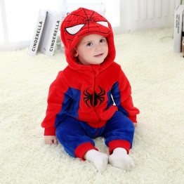 US $19.44 19% OFF Baby Boy Girl Hooded Rompers Cartoon Cosplay Costume Newborn Infant Jumpsuit Super Hero Spiderman Captain America Clothes-in Rompers from Mother & Kids on Aliexpress.com   Alibaba Group