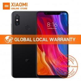 """Глобальная версия Xiaomi mi 8 6 ГБ 128 ГБ 6,21 """"полный Экран Snapdragon 845 Octa Core 20MP Фронтальная камера Face Unlock NFC mi 8 смартфон купить на AliExpress"""