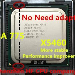 1533.63 руб. |Intel Xeon X5460 x5460 Processor 3,16 ГГц 12 МБ 1333 мГц xeon 775 ЦПУ близко к q9650 работает на LGA775 плата нет необходимости адаптер купить на AliExpress