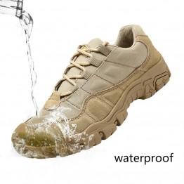 1623.21 руб. 48% СКИДКА|Уличная Мужская походная обувь непромокаемые дышащие тактические армейские ботинки дезерты тренировочные кроссовки Нескользящие треккинговые ботинки купить на AliExpress