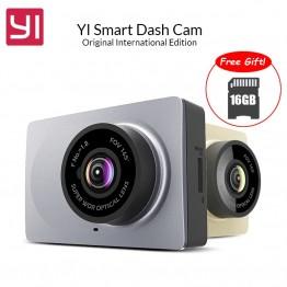 3286.5 руб. 50% СКИДКА|Оригинал Международный edition Yi Smart Автомобильный видеорегистратор Wi Fi Даш камеры 165 градусов ADAS регистраторы 1080 P 60fps камеры автомобиля регистратор-in Видеорегистратор from Автомобили и мотоциклы on Aliexpress.com | Alibaba Group
