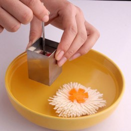 Удобный квадратный резак в форме сеток тофу из нержавеющей стали ручной пресс-Измельчитель инструменты для приготовления овощей Кухонные ...