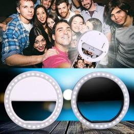 € 2.97 30% de DESCUENTO|Clip de teléfono Selfie luz LED Flash Selfie anillo luz fotografía luminosa brillante anillo luz para Smartphone 3 niveles de brillo-in Flashes from Productos electrónicos on Aliexpress.com | Alibaba Group