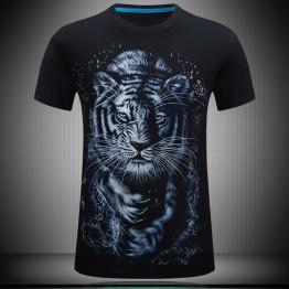 637.79 руб. 16% СКИДКА Новинка, большие размеры 5XL 6XL, Мужская футболка с 3D принтом тигра, хлопковая Повседневная футболка с короткими рукавами JL-in Футболки from Мужская одежда on Aliexpress.com   Alibaba Group