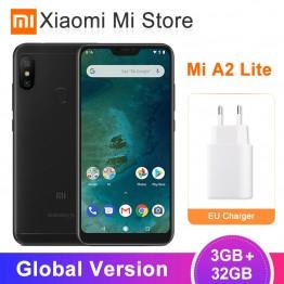 8743.17 руб. |Глобальная версия Xiaomi Mi A2 Lite 3 ГБ ОЗУ 32 Гб ПЗУ Смартфон Snapdragon 625 Восьмиядерный 5,84
