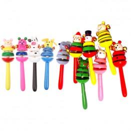 90.07 руб. 22% СКИДКА|1 шт. детские игрушки погремушки деревянные действия колокольчик палка шейкер детские игрушки для новорожденных детские мобильные погремушки детские игрушки случайный-in Детские погремушки и мобильники from Игрушки и хобби on Aliexpress.com | Alibaba Group