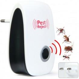 Мощный комаров убийца ультразвуковой отпугиватель Fly Ловушка управление насекомых мышь против грызунов ошибка отклонить дома и сада купить на AliExpress