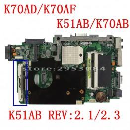 5129.27 руб. 6% СКИДКА|Отправить процессор K51AB материнская плата HD5145 512 М для ASUS K51AB K70AF K70AB K70AD Материнская плата ноутбука K51AB системная плата Материнская плата 100% ОК-in Материнские платы from Компьютер и офис on Aliexpress.com | Alibaba Group