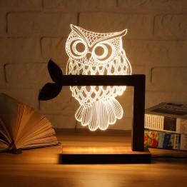 1614.65 руб. 37% СКИДКА|Деревянный USB светодио дный LED животных Бабочка Сова ночник теплый освещение настольные лампы для чтения спальня домашний Декор подарок на день рождения-in Ночники from Лампы и освещение on Aliexpress.com | Alibaba Group