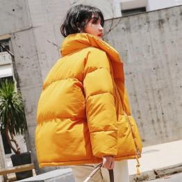 1671.33 руб. 49% СКИДКА Осенне зимняя куртка женская парка пуховая хлопковая утепленная короткая куртка пальто негабаритная верхняя одежда с длинными рукавами женские Топы Куртка Q601-in Парки from Женская одежда on Aliexpress.com   Alibaba Group