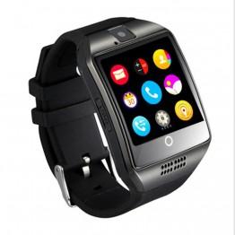 752.26 руб. 40% СКИДКА|Q18 Bluetooth Смарт часы Сенсорный экран большой Батарея Поддержка сим карта TF Камера для телефонов на базе Android с Bluetooth монитор сна наручные часы унисекс-in Цифровые часы from Ручные часы on Aliexpress.com | Alibaba Group