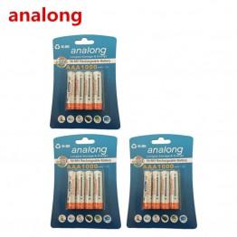 199.86 руб. 5% СКИДКА|Analong 1,2 v AAA 3A NIMH 1000 мА ч aaa батарея перезаряжаемая AAA батарея ni mh аккумуляторная батарея-in Подзаряжаемые батареи from Бытовая электроника on Aliexpress.com | Alibaba Group