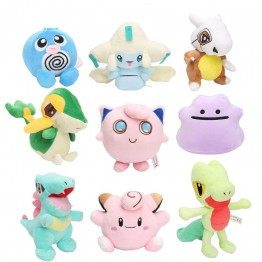 US $3.61 12% OFF Pocket Plush Jirachi Jigglypuff Torchic Togepi Poliwhirl Cubone Totodile Ditto Treecko Snivy Stuffed Animal Dolls toys-in Stuffed & Plush Animals from Toys & Hobbies on Aliexpress.com   Alibaba Group