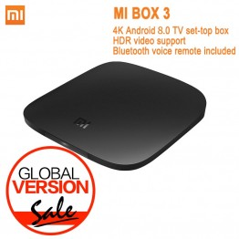 3663.74 руб. 20% СКИДКА|Глобальная версия Xiaomi Mi tv Box 3 Android 8,0 4 К к 8 ГБ HD WiFi Bluetooth многоязычный Youtube DTS Dolby IP tv Smart Media Player купить на AliExpress