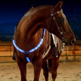 US $14.99 |LED Horse Bridle Halter Visibility Tack Horse Riding Equestrian Safety Gear In Night LED Horse Collar LED Lights Chest Belt-in Halters from Sports & Entertainment on Aliexpress.com | Alibaba Group