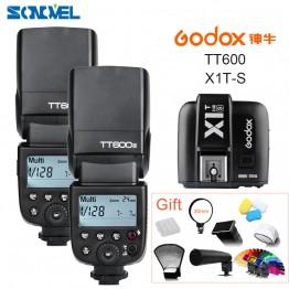 12096.72 руб. 20% СКИДКА|2x Godox TT600s HSS GN60 2,4G Камера Вспышка Speedlite + X1T S передатчик для sony A7 A7S A7R A7 II A6500 A6300 A6000 A6100 A58 A99-in Вспышки from Бытовая электроника on Aliexpress.com | Alibaba Group